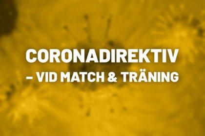 Nyhet Coronadirektiv SBSK