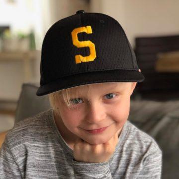 S-keps Skellefteå BSK – Cap S – Svart