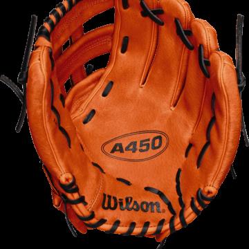 Wilson-Basebollhandske-Ungdom-A450-Vänster-Föroljat läder-wta04rb181799_2