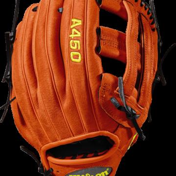 Wilson-Basebollhandske-Ungdom-A450-Vänster-Föroljat läder-wta04rb181799_3