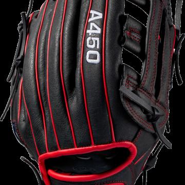 Wilson Basebollhandske Ungdom A450 Vanster WTA04RB1911 3